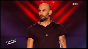 Francois from Minus One in The Voice of France