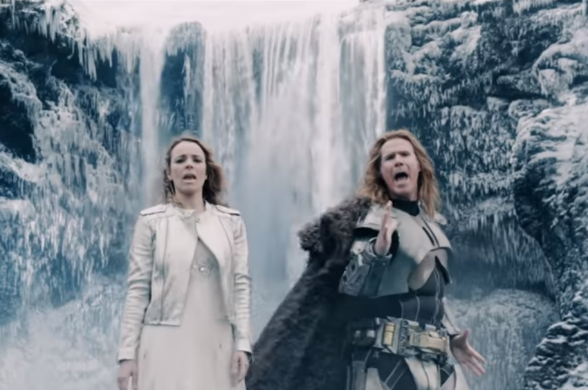 Will Ferrel and Rachel McAdams star as Eurovision hopefulls Lars Erickssong and Sigrit Ericksdottir.