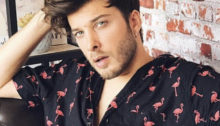 Photo of Blas Cantó who represented Spain at the 2021 Eurovision Song Contest